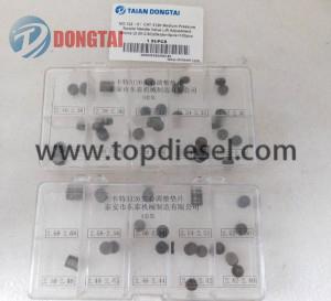No,122(6)CAT3126Mediumpressure nozzle needle valveliftadjustment shims: (2.20-2.60)20kidsx5pcs=100pcs