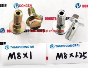 No,007(5-3) Oil return screw M8*1,M8*1.25