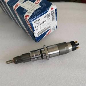 Original Bosch Injector 0445120231 0 445 120 231 for Cummins Qsb6.7 Komatsu S6d107 Engine